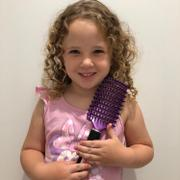 Happy Hair Brush Purple Happy Hair Brush Review