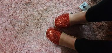 Gloriasandals Red Glitter Review