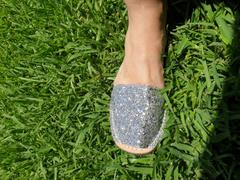 Gloriasandals Silver Glitter Review