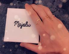 Majolie Boho Moon Ring - Rose Gold Review
