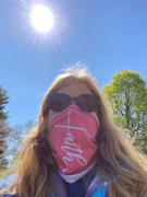 Faith Hope Love Boutique Faith Cross Face Shield / Neck Gaiter (Coral) - (Quick Ship) - NON-RETURNABLE Review