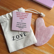 Zove Beauty Rose Quartz Gua Sha Review