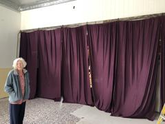 tableclothsfactory.com 2 Pack | 5FTx10FT Eggplant Fire Retardant Polyester Curtain Panel Backdrops With Rod Pockets Review