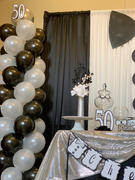 tableclothsfactory.com 25 Pack | 12 | Black Pearl Balloon | Water Air Helium Party Latex Balloons Review