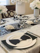tableclothsfactory.com Pack of 6 |13 White Round Acrylic Beaded Charger Plates Review
