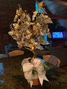tableclothsfactory.com 30 Metallic Gold Manzanita Centerpiece Tree + 8pcs Acrylic Chains Review