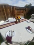tableclothsfactory.com 5 Pack 17x17 Burgundy Polyester Linen Napkins Review