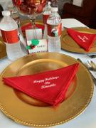 tableclothsfactory.com 5 Pack 17x17 Red Polyester Linen Napkins Review