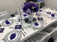 tableclothsfactory.com 5 Pack 20x20 Purple Polyester Linen Napkins Review