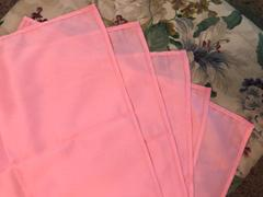 tableclothsfactory.com 5 Pack 20x20 Rose Quartz Polyester Linen Napkins - Clearance SALE Review