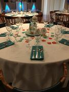 tableclothsfactory.com 5 Pack 20x20 Turquoise Polyester Linen Napkins Review