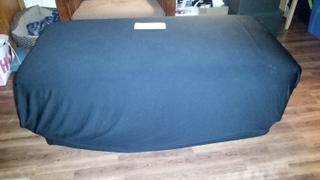 tableclothsfactory.com 5 FT Black Rectangular Stretch Spandex Tablecloth Review