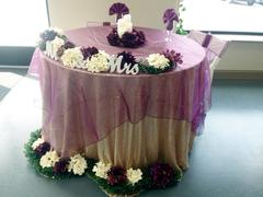 tableclothsfactory.com 5 PCS | Eggplant Sheer Organza Chair Sashes Review