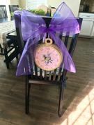 tableclothsfactory.com 5 PCS | Purple Sheer Organza Chair Sashes Review