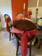 tableclothsfactory.com 5 pack | 6x106 Burnt Orange Satin Chair Sash Review
