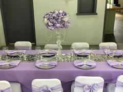 tableclothsfactory.com 5 pack | 6x106 Lavender Satin Chair Sash Review