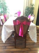 tableclothsfactory.com 5 pack | 6x106 Pink Satin Chair Sash Review