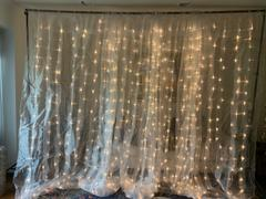 tableclothsfactory.com 18FT x 9FT | 600 Sequential White LED Lights BIG Photography Organza Curtain Backdrop Review