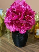 tableclothsfactory.com 12 Bush 60 Pcs Fushia Artificial Silk Peony Flowers Review