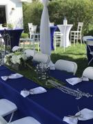 tableclothsfactory.com 6 FT Royal Blue Rectangular Stretch Spandex Tablecloth Review