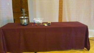tableclothsfactory.com 72x120 Burgundy Polyester Rectangular Tablecloth Review