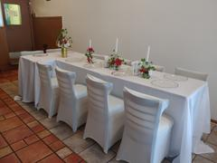 tableclothsfactory.com 90x132 White Polyester Rectangular Tablecloth Review