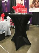 tableclothsfactory.com Black Cocktail Spandex Table Cover Review