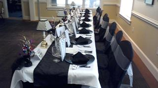 tableclothsfactory.com Black Polyester Banquet Chair Covers Review