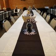 tableclothsfactory.com 12x108 Black Polyester Table Runner Review