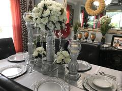 tableclothsfactory.com Silver DASHING Mirror Foil Table Runner Review