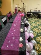tableclothsfactory.com 14 x 108 Fushia Organza Runner For Table Top Wedding Catering Party Decoration Review
