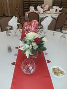 tableclothsfactory.com 12x108 Red Satin Table Runner Review