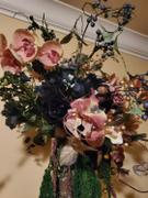tableclothsfactory.com 12 Bush Navy Blue 84 Rose Buds Real Touch Artificial Silk Flowers Review
