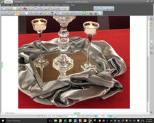 tableclothsfactory.com 60x 60 Silver Seamless Satin Square Tablecloth Overlay Review