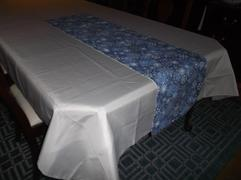 tableclothsfactory.com 60x126 Silver Polyester Rectangular Tablecloth Review