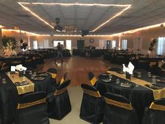 tableclothsfactory.com Black Polyester Folding Flat Chair Covers Review