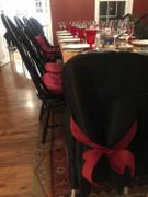 tableclothsfactory.com Black Polyester Folding Round Chair Covers Review