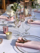 tableclothsfactory.com 5 Pack 17x17 Blush | Rose Gold Polyester Linen Napkins Review