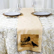 tableclothsfactory.com 12x108 Beige Polyester Table Runner Review