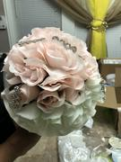 tableclothsfactory.com 12 Bush Blush | Rose Gold 84 Rose Buds Real Touch Artificial Silk Flowers Review