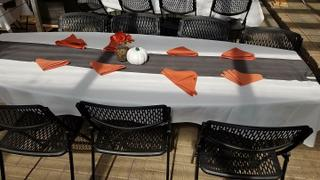 tableclothsfactory.com 12x108 Charcoal Gray Polyester Table Runner Review