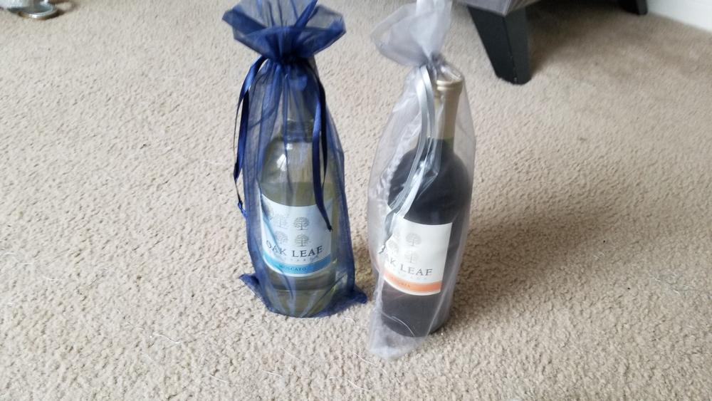 Organza Wine Bag   Gift Bags   Wedding Favors   Tablecloths ...