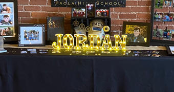 tableclothsfactory.com 6 Gold 3D Marquee Letters | Warm White 7 LED Light Up Letters | N Review