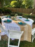 tableclothsfactory.com 5 Pack 20x20 Teal Polyester Linen Napkins Review