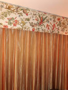 tableclothsfactory.com 8 Ft Long Coral Silk String Tassels Backdrop Curtains for Party - Clearance SALE Review