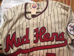 Ebbets Field Flannels Toledo Mud Hens 1965 Home Jersey Review