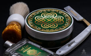 Murphy and McNeil Gael Luc Shaving Soap Review