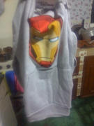 Máscara De Látex IRON MAN HOODIE NIÑO Review