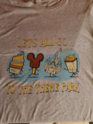 Park Candy Let's All Go to the Theme Park WDW Shirt Review