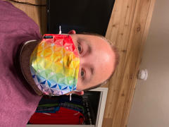 Park Candy Pride Spaceship Reusable Face Mask - EARLY AUGUST PREORDER Review